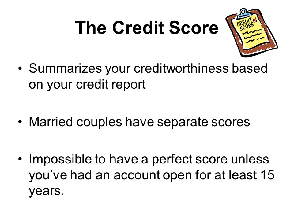 FICO SCORES FICO scores provide a guide to future risk based on credit report data The assumption = the higher the credit score, the lower the risk