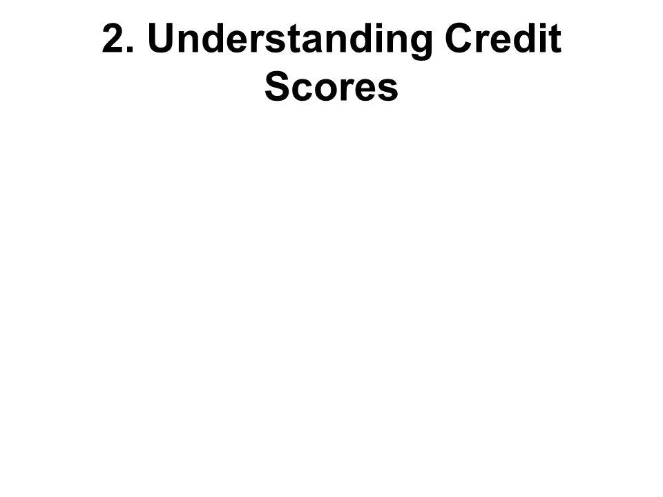 2. Understanding Credit Scores