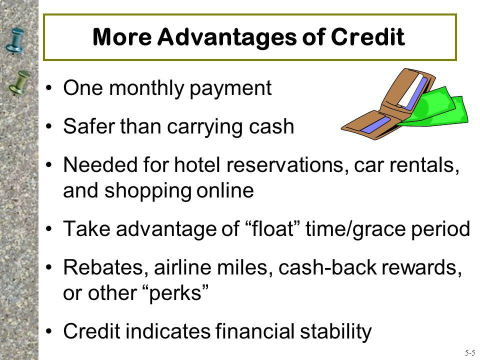 General Rules of Credit Capacity Debt To Equity Ratio Total Liabilities Net Worth* = Should be < 1 *Excluding home value 5-16 The lower the ratio, the better; e.g., 0.5 or 0.25
