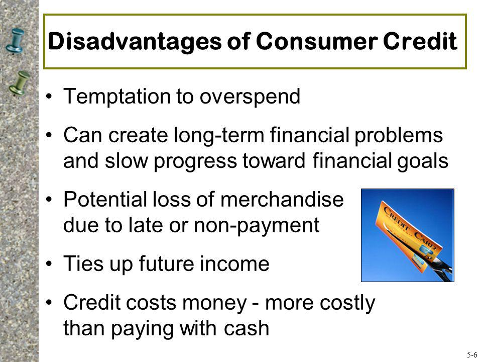 The Five Cs of Credit Character - Do you pay bills on time.