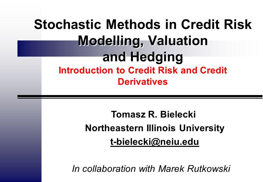 TRB 2 Part 1: Portfolio Credit Risk Measuring credit risk.