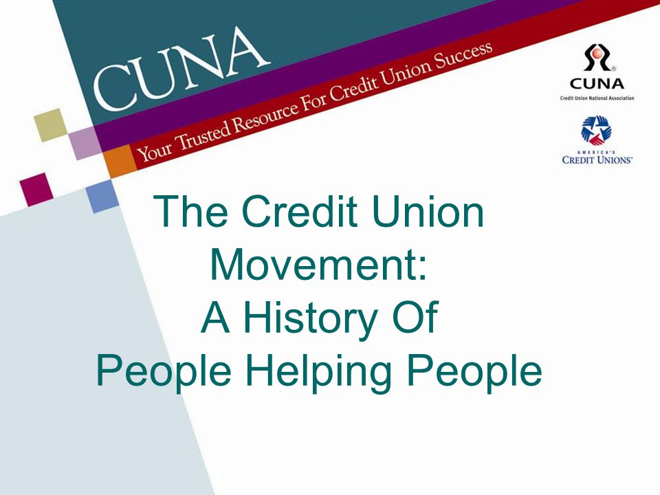 WOCCU The rapid growth of credit unions in other parts of the world and in emerging nations led to the creation of the World Council of Credit Unions in 1970.