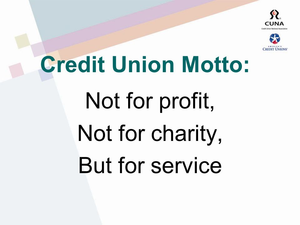 What Is A Credit Union.