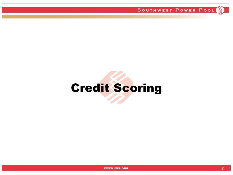 www.spp.org 7 Credit Scoring 7