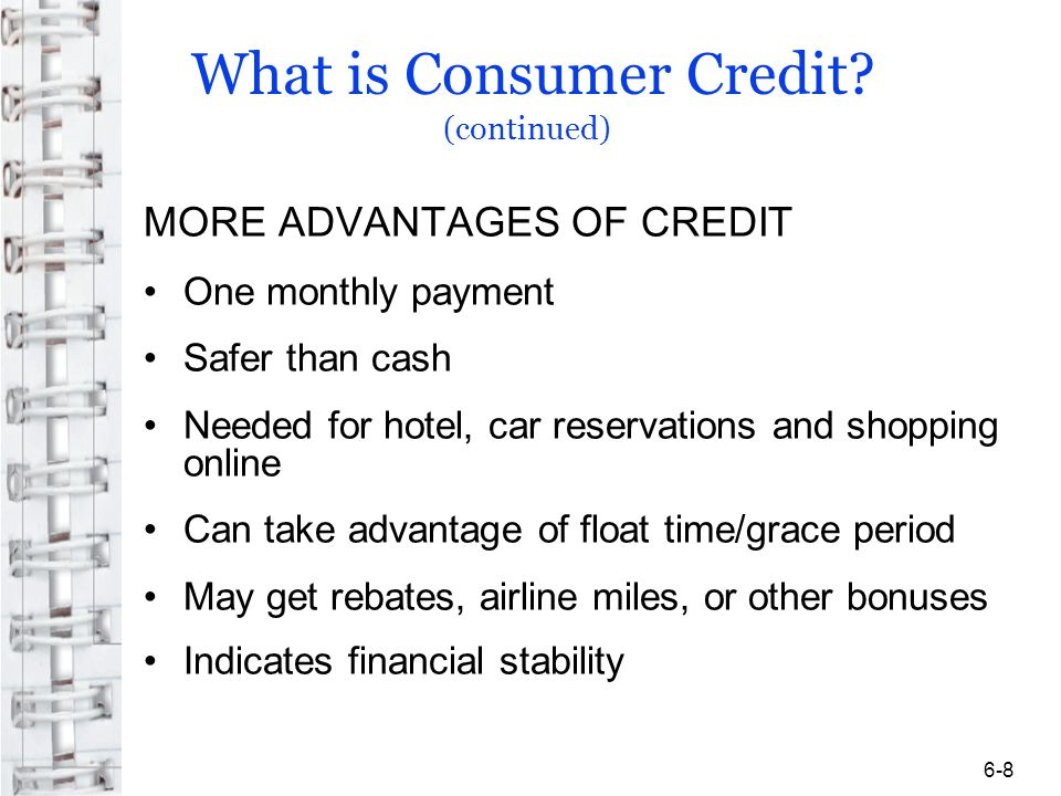 Avoiding and Correcting Credit Mistakes Objective 5: identify the steps you can take to avoid and correct credit mistakes Fair Credit Billing Act Notify creditor of error in writing within 60 days Include your explanation of the error and your account number to the billing inquiries address They must respond within 30 days Credit card company has two billing periods but no longer than 90 days to correct your account or tell you why they think the bill is correct Your credit rating is not affected while item is in dispute 6-29