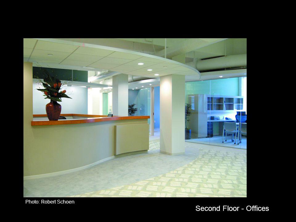 Second Floor - Offices Photo: Robert Schoen