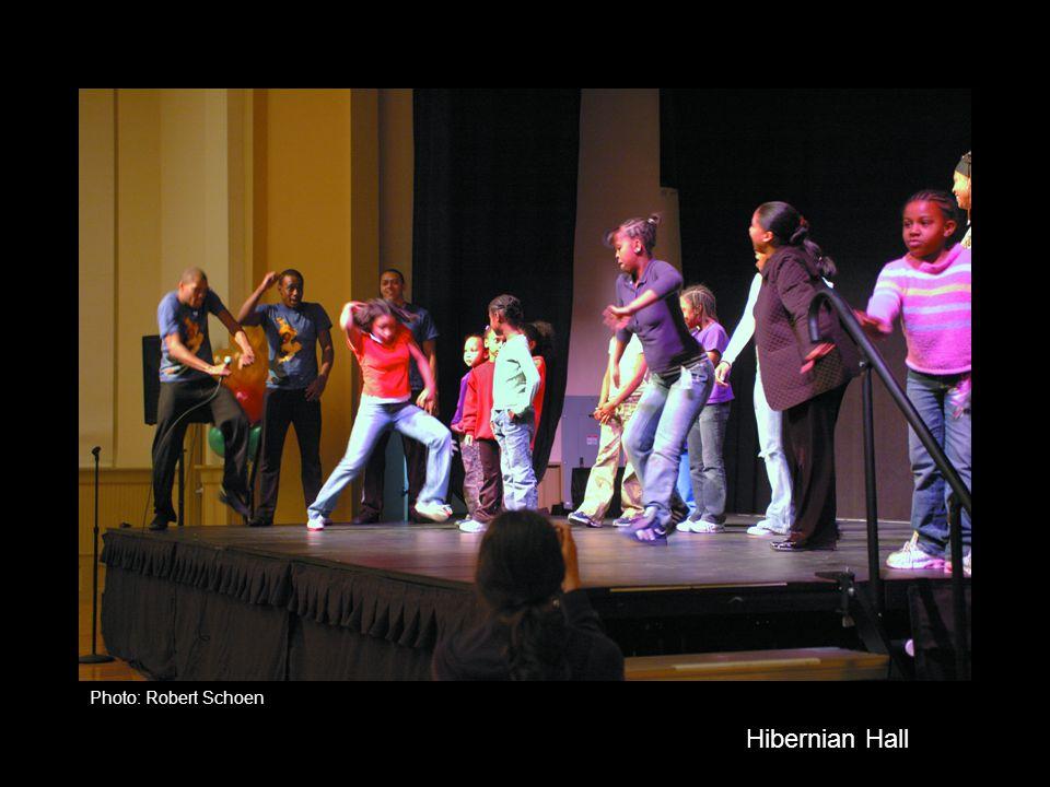 Hibernian Hall Photo: Robert Schoen