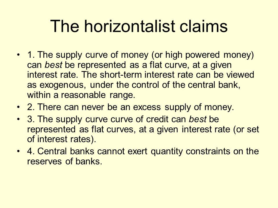 The horizontalist claims 1.