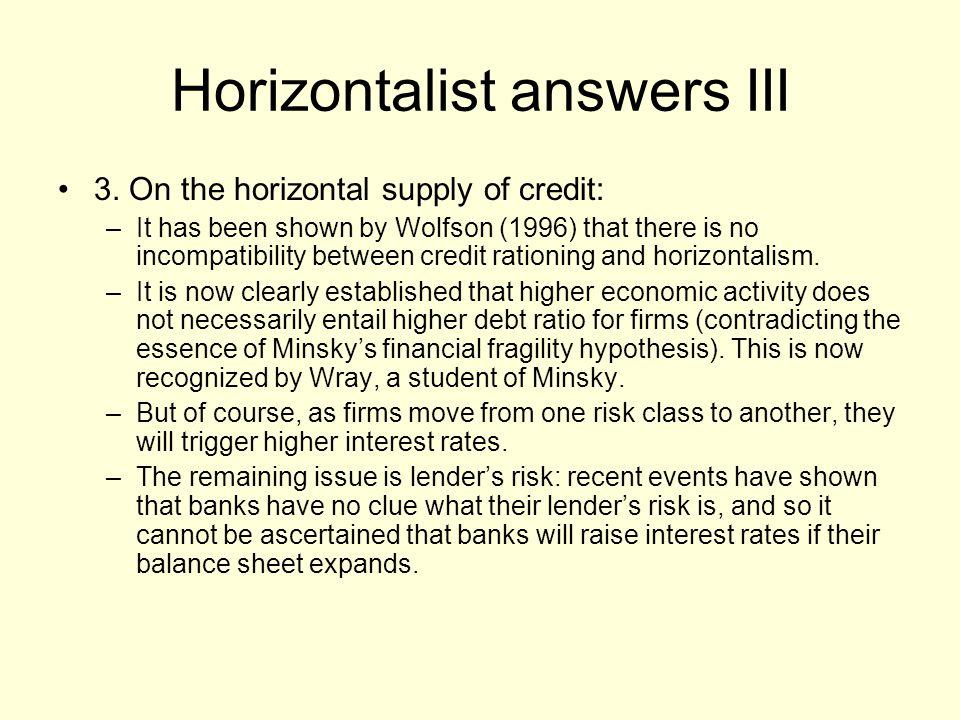 Horizontalist answers III 3.