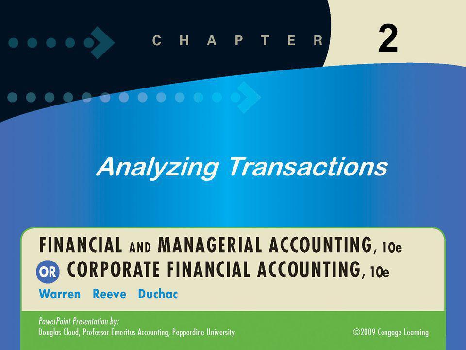 1 2 Analyzing Transactions