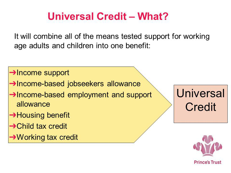 Universal Credit – What.