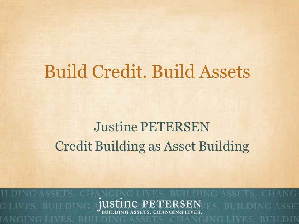 What is Credit Building.