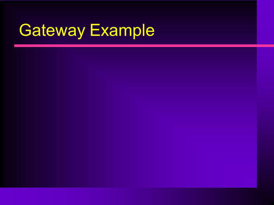 Gateway Example