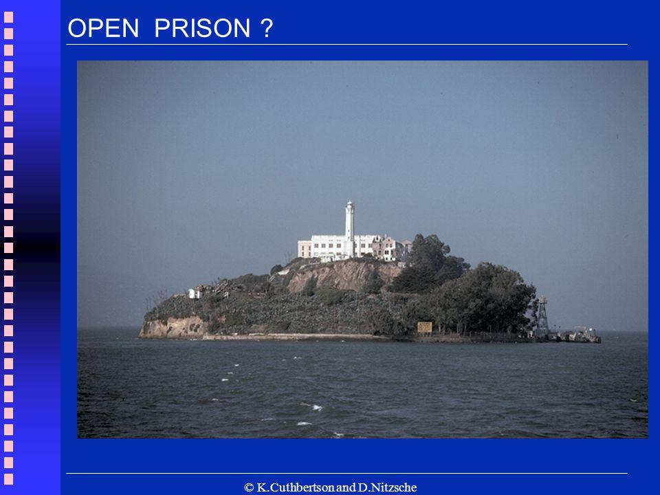 © K.Cuthbertson and D.Nitzsche OPEN PRISON ?