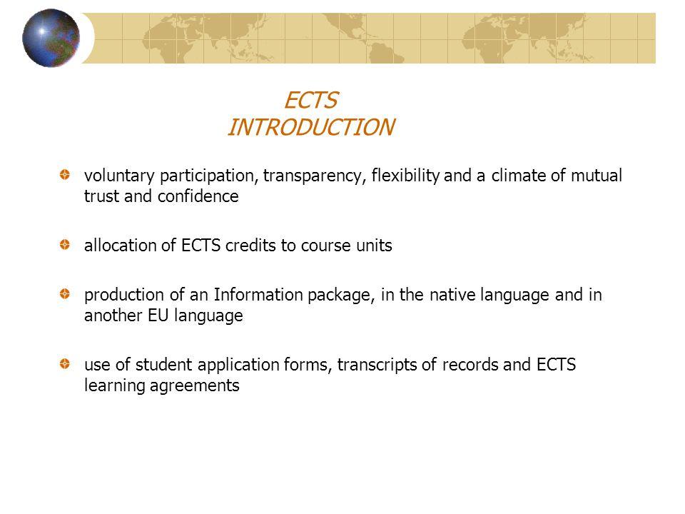 ECTS-background/mor information Rektorsbeslut Dnr 40/9701077 http://europa.eu.int/comm/education/programmes/socrates/guide- sw.doc http://www.mh.se/internationaloffice/ www.programkontoret.se
