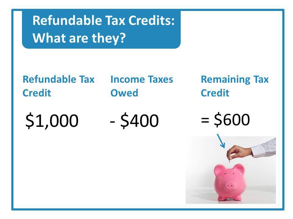 Claiming the Credits: Means Filing Taxes.Employees must file a tax return.