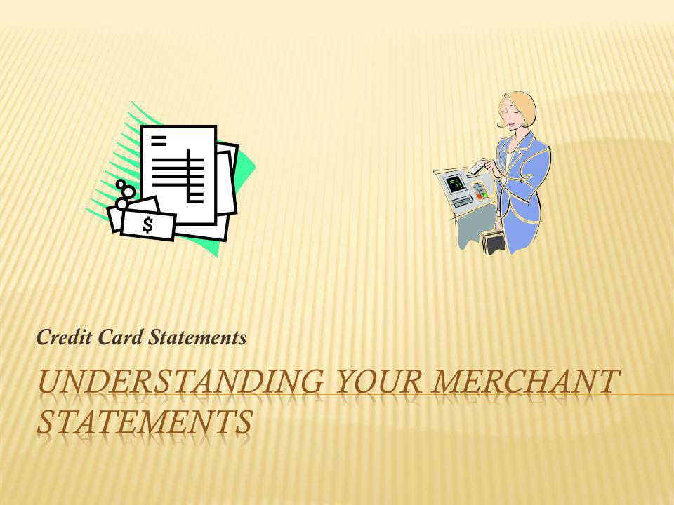 Credit Card Statements