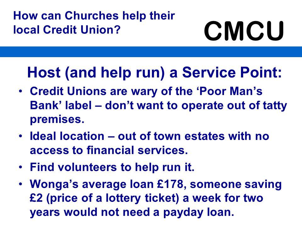 CMCU What will the CMCU do for the Church.