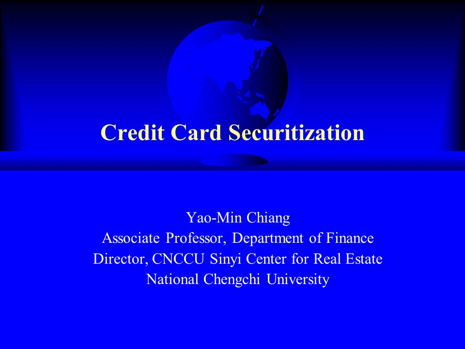 Letter of Credit From the inception of credit card securitization until 1991, the letter of credit (LOC) was a common form of enhancement.