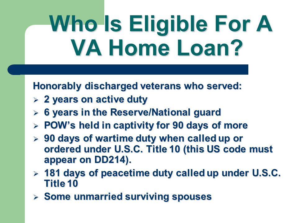 99% of VA Loans are Automatics 1% are Priors