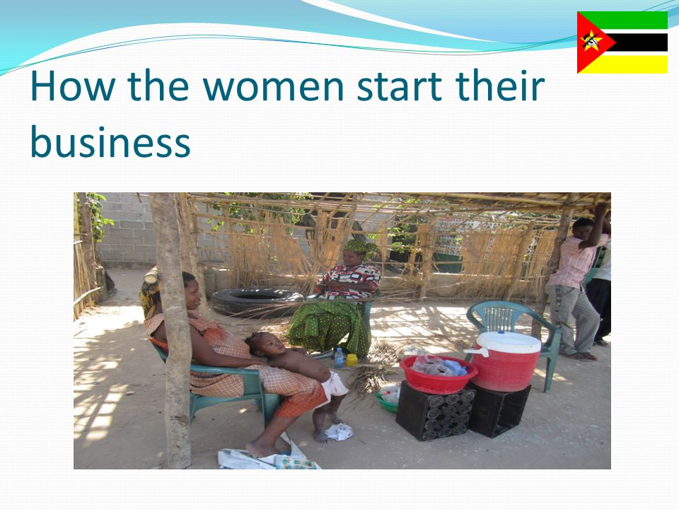 How the women start their business