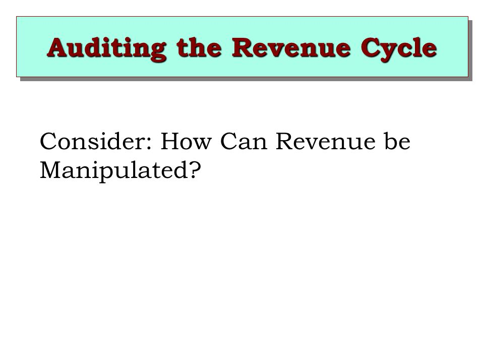 1.Pressures to overstate revenues to achieve announced revenue or profitability targets.