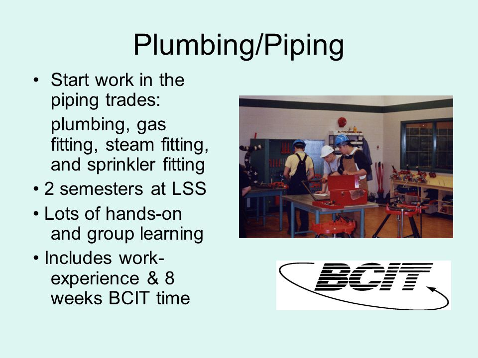 Installing a piping system before the ceiling goes in