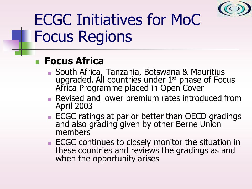 Focus Africa South Africa, Tanzania, Botswana & Mauritius upgraded.