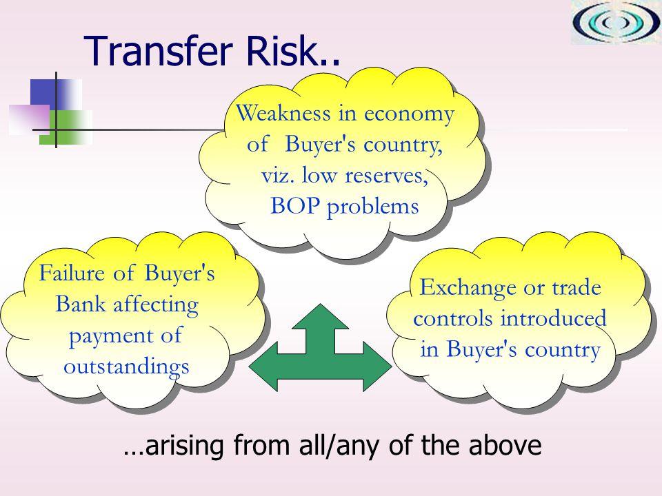 Transfer Risk..