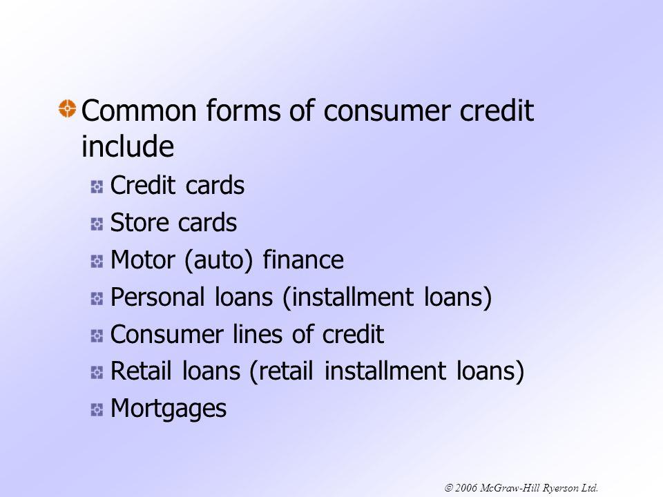 2006 McGraw-Hill Ryerson Ltd.Home Equity Loans vs.