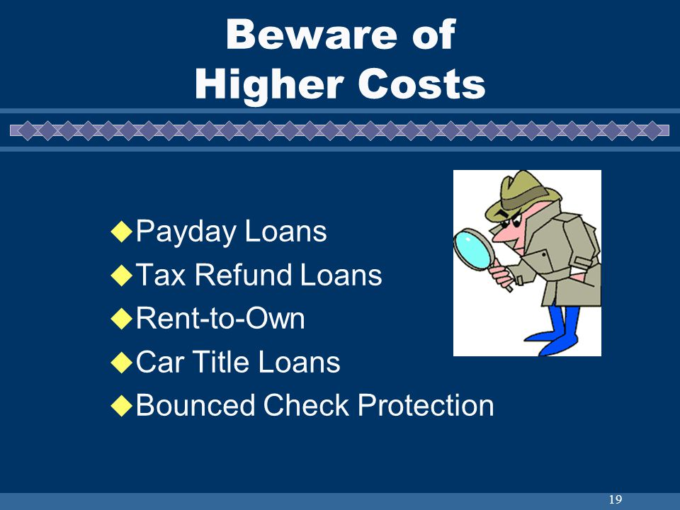 20 Credit Laws Fair Credit Reporting Act Equal Credit Opportunity Act Truth-In-Lending Fair Credit Billing Act Fair Debt Collection Practices Act