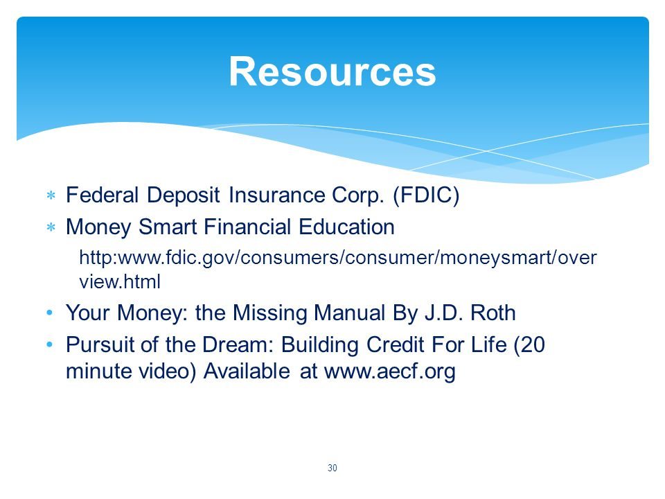 Federal Deposit Insurance Corp.