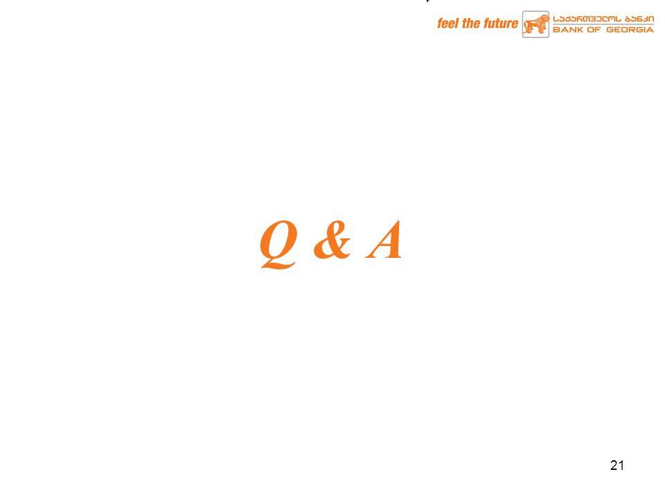 21 Q & A