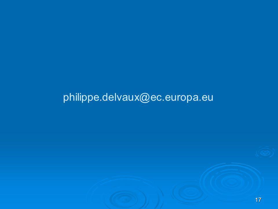 17 philippe.delvaux@ec.europa.eu