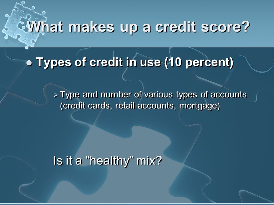 What makes up a credit score? New Credit Tips for Raising your Score Do rate shopping for an auto or mortgage loan within a focused period of time. Re