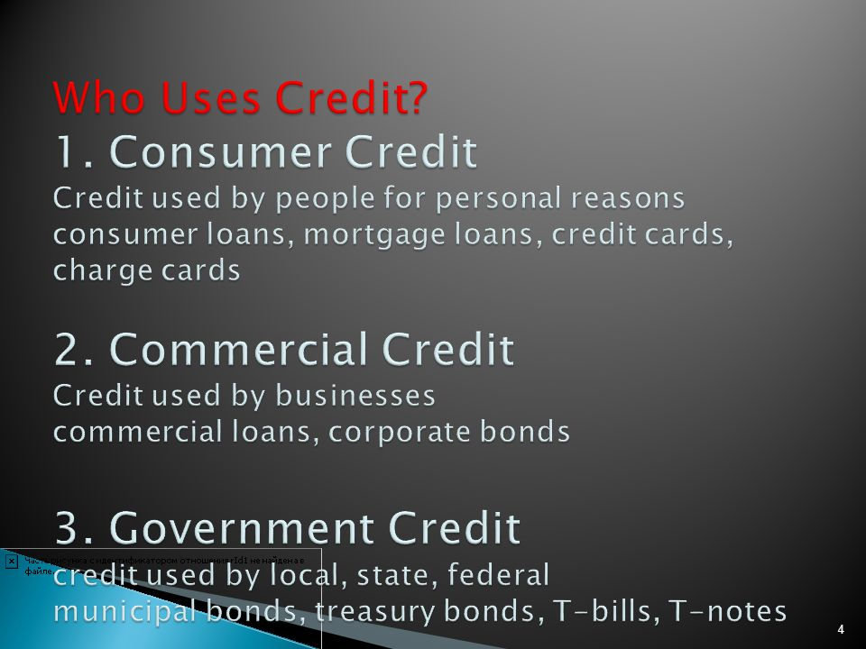 Creditor One who sells on credit or makes a loan Debtor Anyone who buys on credit or receives a loan Obligated to pay back the loan Promissory Note Legal loan document Written promise to repay with interest Usury Laws State law that restricts the amount of interest that can be charged.