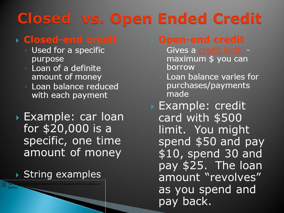 Specialize in loans to people with poor credit ratings Cost of credit is higher than other institutions