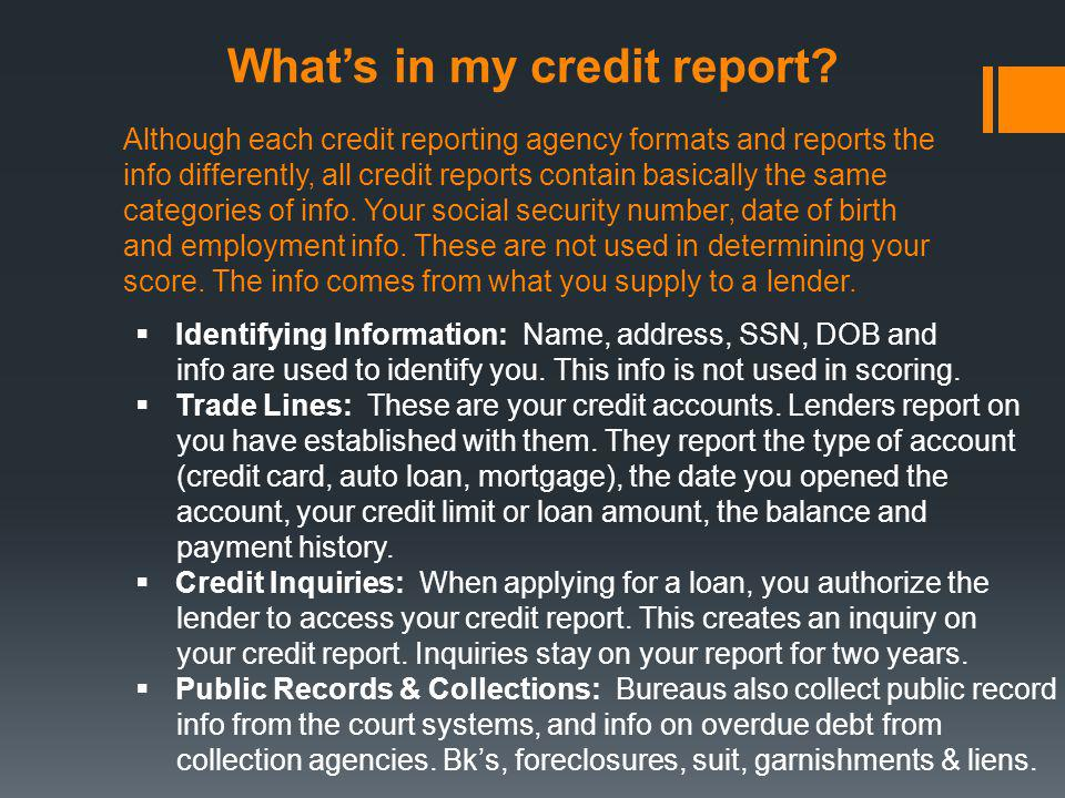Know your rights.The Fair Credit Reporting Act.