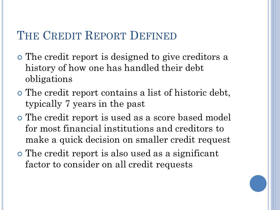 H OW IS YOUR C REDIT S CORE D ETERMINED 30% Credit Utilization: The ratio of current revolving debt, such as credit cards or lines, of credit compared to the limit of the revolving debt is a main factor.
