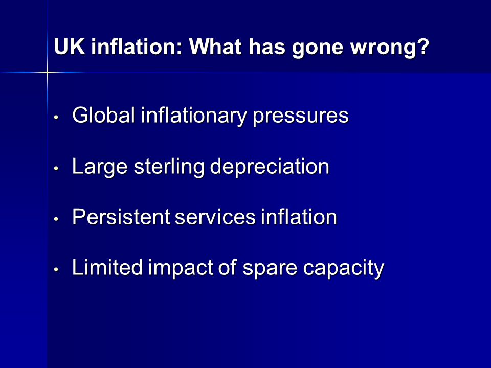 UK inflation: What has gone wrong.