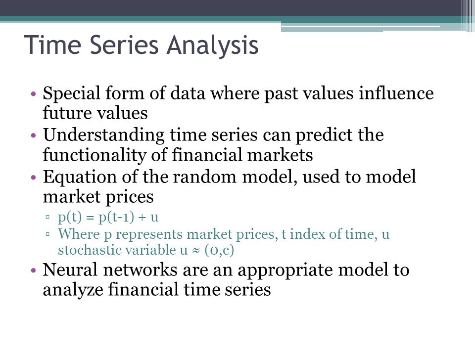 Stock Market Analysis Stock pricing is an important aspect of financial economics Dividend Discount Model(DDM) applied to neural networks in order to verify if the entities are relatively stable Also to verify if prices are efficient and fair for stocks DDM assumes that the value of a share of common stock is the present value of all future dividends