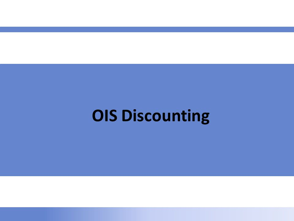 OIS Discounting