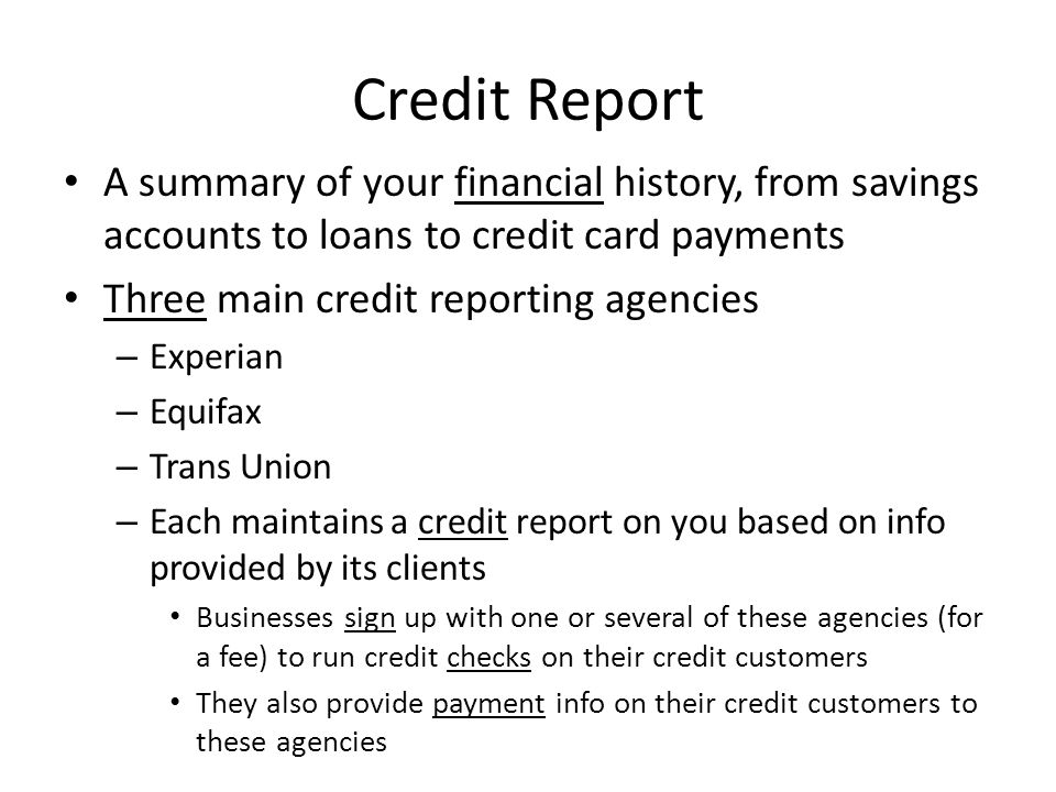 How To Build Up a Better Credit Score Get a savings account & keep a steady or increasing amount of money Get a debit card at the same bank & use it – Keep a safe cushion of money in account so you dont overdraw the account Get a credit card (if youre over 18), use it, and 1.Pay it off every month (ideal) 2.Pay as much of the balance off every month 3.Make the monthly minimum payment every month (least desirable) Get a loan (car loan, student loan, etc.) and keep the account in good standing by making all the payments on time and paying it off as soon as possible