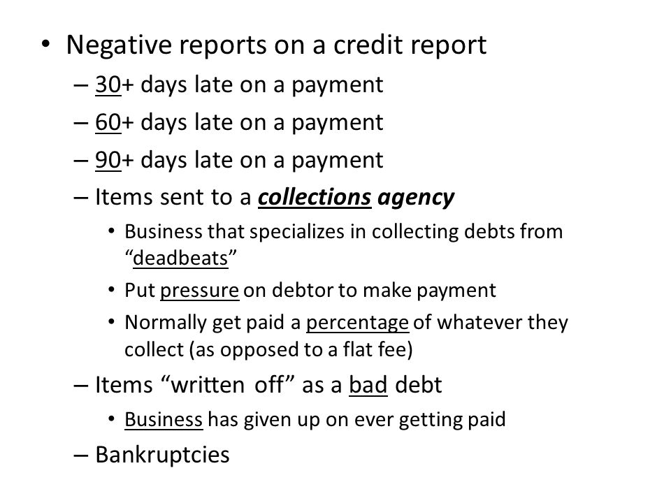 Get Your Credit Report for Free.