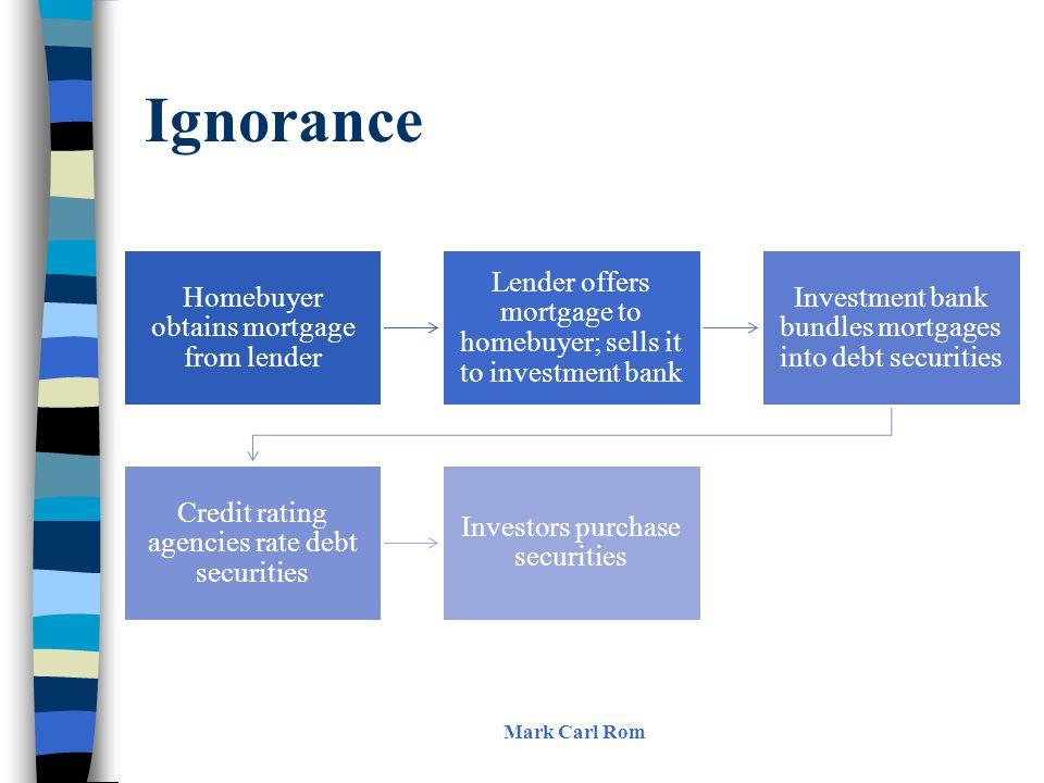 Ignorance Mark Carl Rom