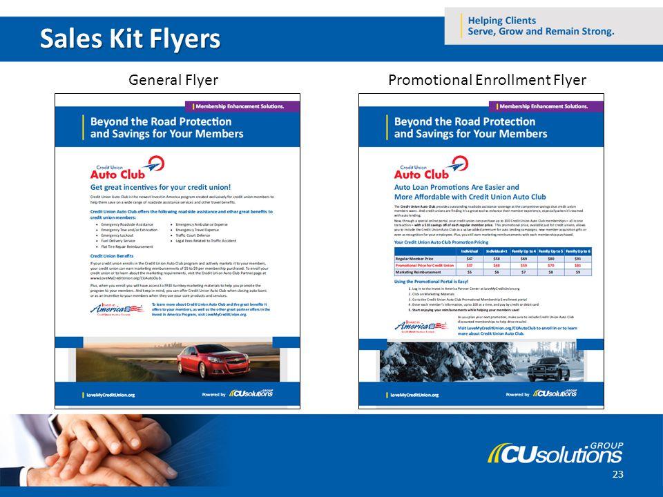 Sales Kit Flyers General FlyerPromotional Enrollment Flyer 23