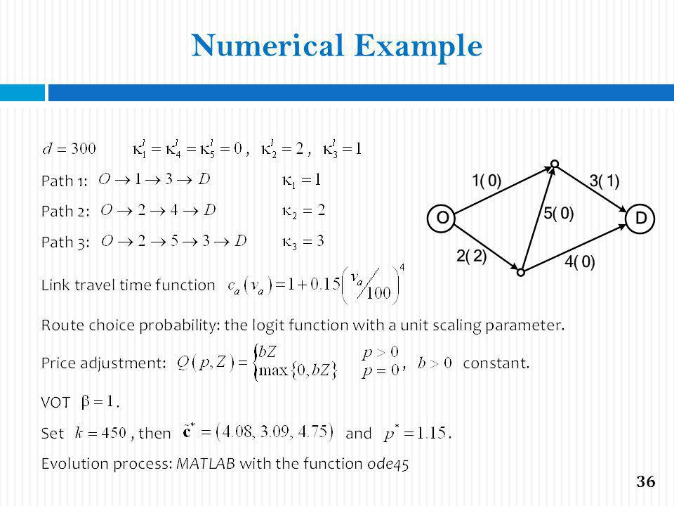 Numerical Example 36