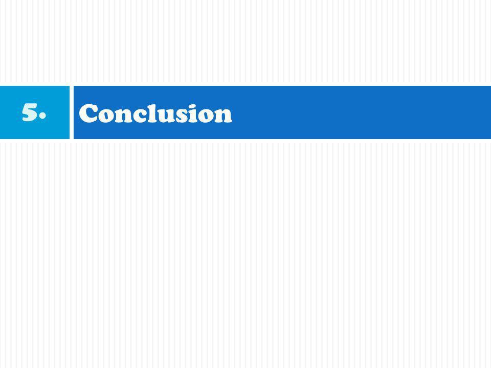 Conclusion 5.