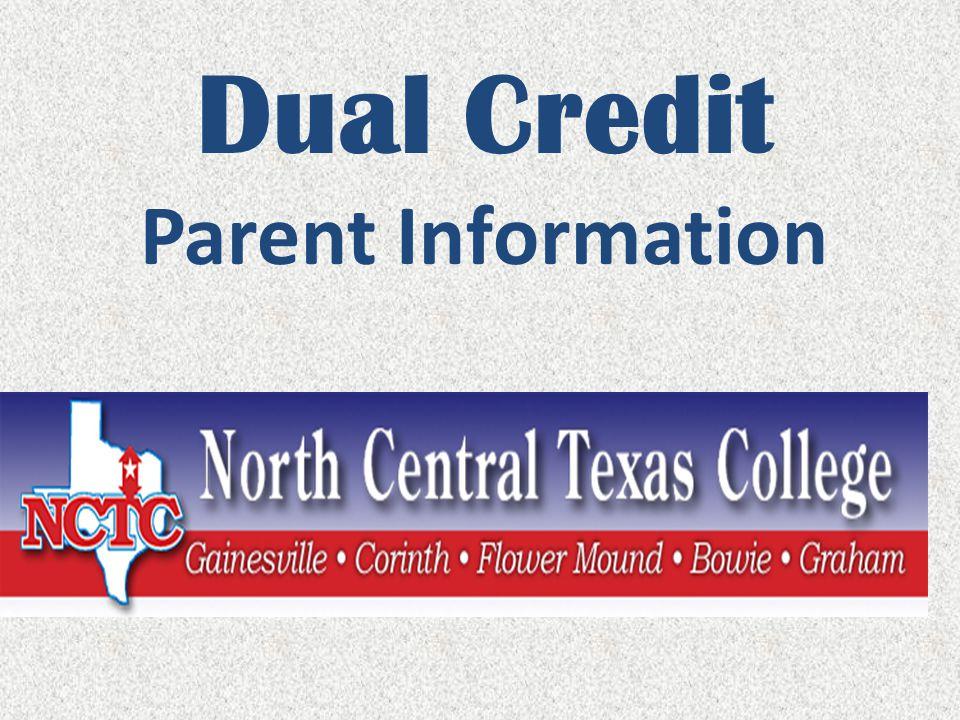 Dual Credit Parent Information