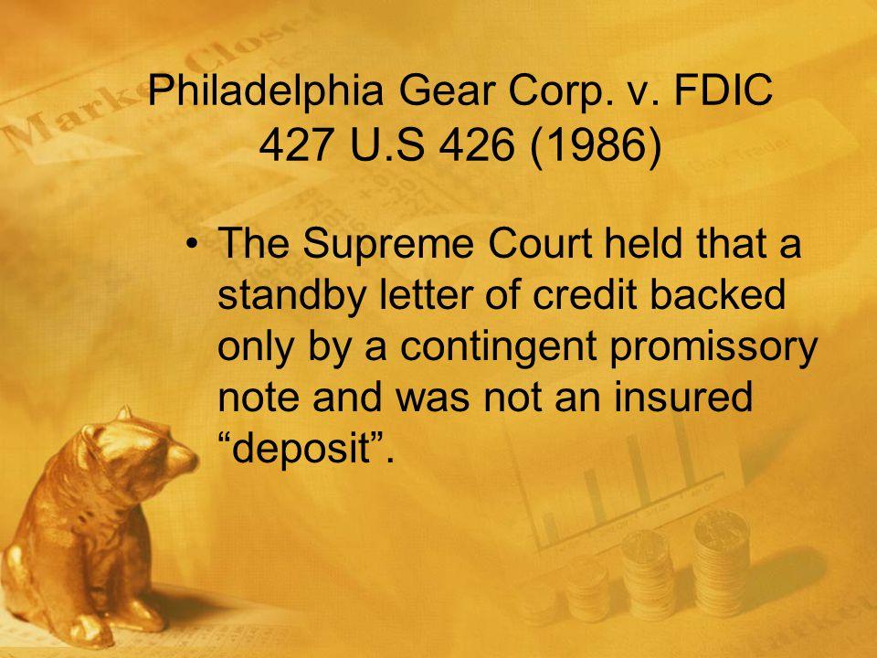 Philadelphia Gear Corp. v.